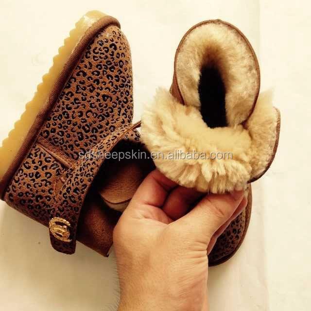 Baby Kid Genuine Boot Child Shoes Fur Boot Newborn Girl