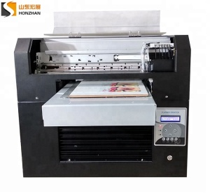 In stock digital flatbed UV printer pen case fast printing machine