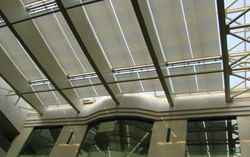 Roof skylight Shade, skylight blind, motorized skylight blinds
