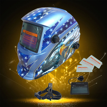 Factory Price Flip Up Eye Protection Stepless Variable full face welding helmet