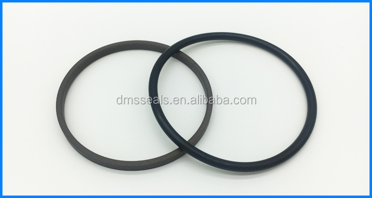 40% bronze filled PTFE brown hydraulic shaft retaining rod ring  GSI