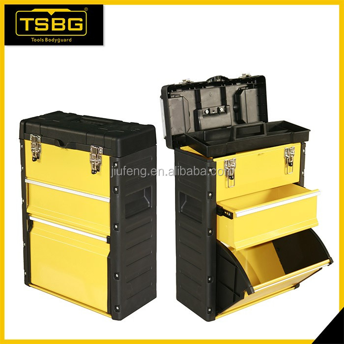 Wholesale Products China Plastic Handle Trolley Toolbox