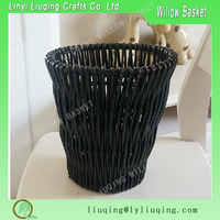 Buy black storage wicker basket willow basket in China on Alibaba.com