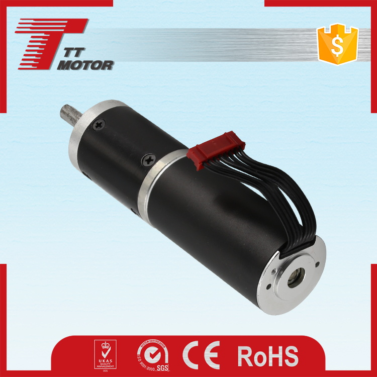 Retractable rearview mirror brushless planetary electric motor 12 v 200 rpm