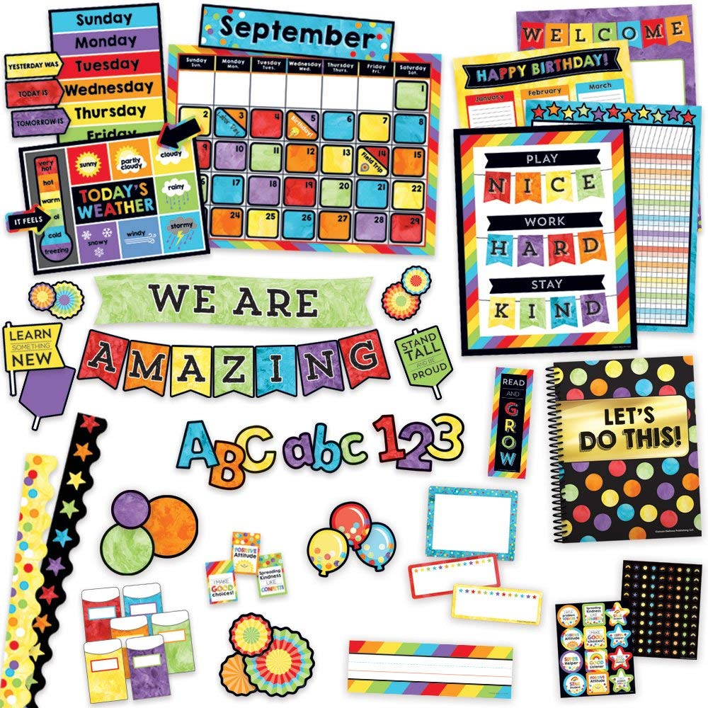 Celebrate Learning Classroom Environment Décor All In One Kit