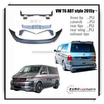 Nuevo Look Body Kit Para Más Fresco Volkswagen T6 Tuning Abt Estilo ...