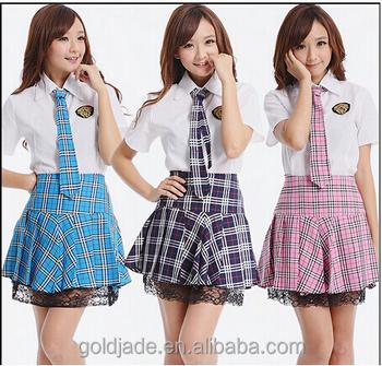 2016 sexy m dchen japanische schulm dchen uniform muster for Womens school uniform shirts