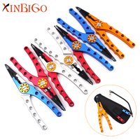 Deluxe Multifunctional Fishing Tackle Aluminum Fishing Pliers