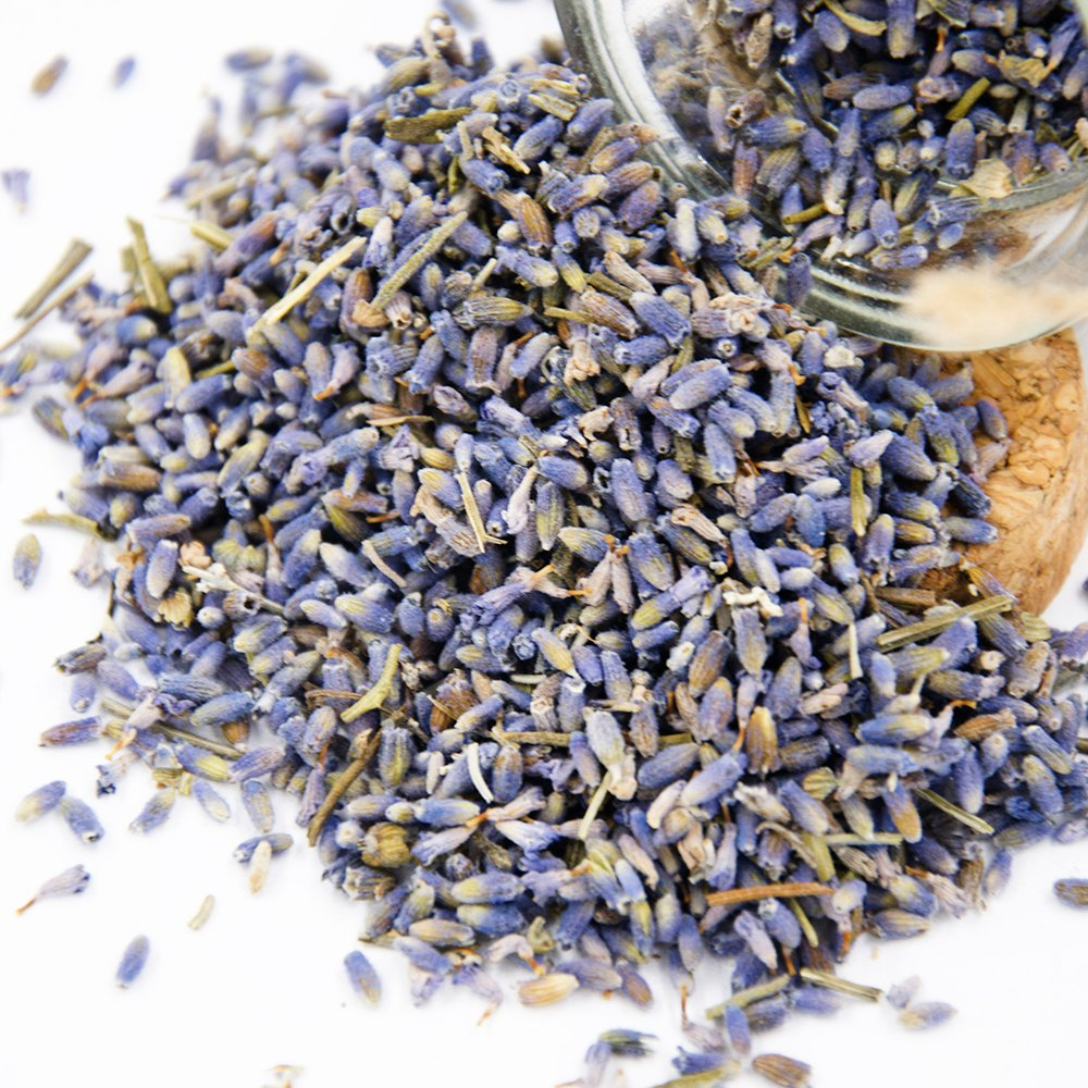 Lavande Sur Terre Gift-Box Packaged Dried Lavender Flower Seeds Small Glass Bottle