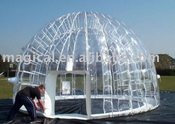 inflatable transparent dome PVC igloo inflatable clear tent & inflatable transparent dome PVC igloo inflatable clear tent View ...