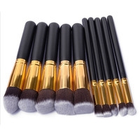High Quality Wholesale Glitter Cosmetic Brush Private Label Custom Logo Makeup Brush