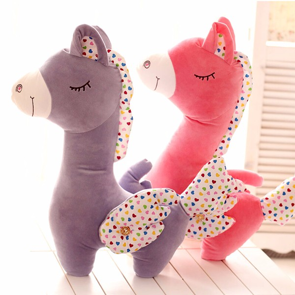 Hot sale factory custom plush stuffed toy horse