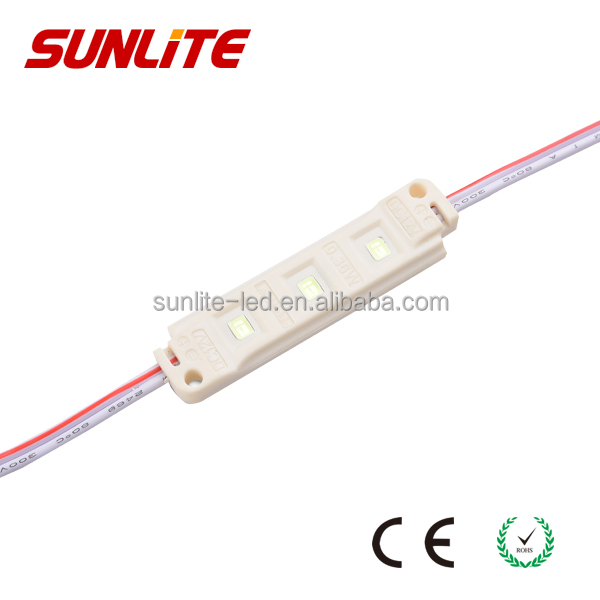 2835 plastic injection led module for channel letters PVC cover led module