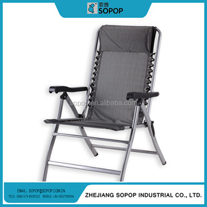 Double Seat Camping high back folding elderly folding beach chair