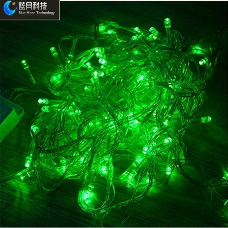 10m 100led Micro Led String Lights Outdoor Led Christmas Light ...