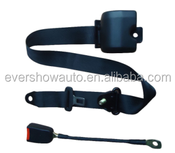 Hot sale Automatic emergency electrical safety belt 3 points safety belt cheap price of safety belt (ES8331)