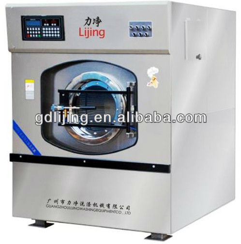 CE approvered commercial laundromat equipment & industrial laundry washing machine (15kg-100kg)