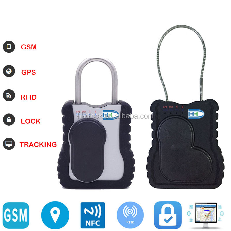 GPS Tracker Electronic Cargo Container Seals Lock