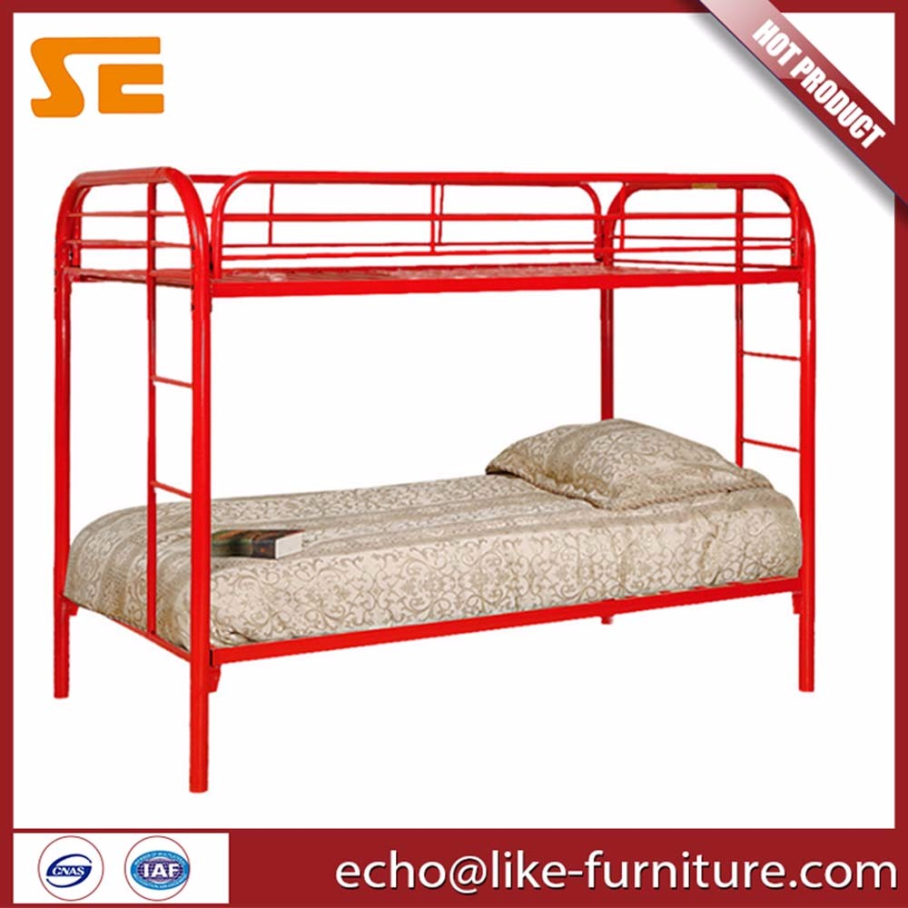 Wholesale student bunk beds iron metal tube for school dormitory furniture
