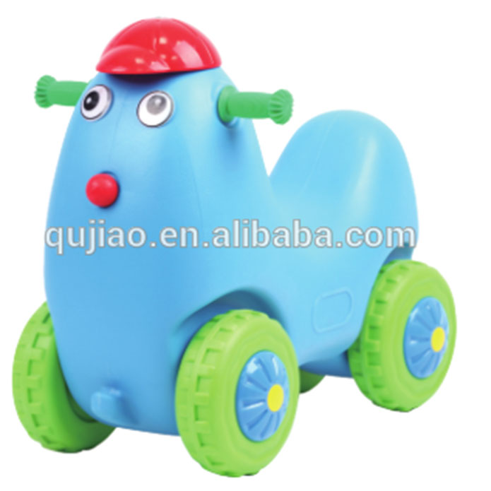 Childrenl Plastic Animal Ride Toy Rocking Horse