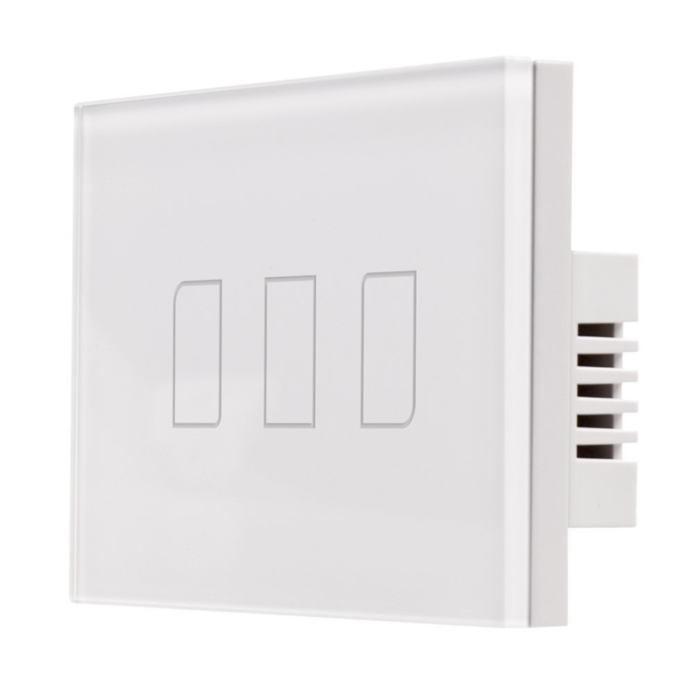 Buy Broadlink Tc1 Home Automation Light Switch Smart Touch 3 Panel Tc2 110v 1 Way Gang Remote Control Wall Glass