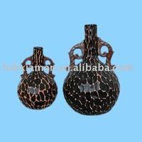 terracotta clay vase