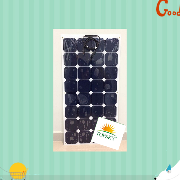 high efficiency light weight flexible solar panel Al/ETFE/TPE/BIPV/NEW with TUV/PID/CEC/CQC/IEC/CE