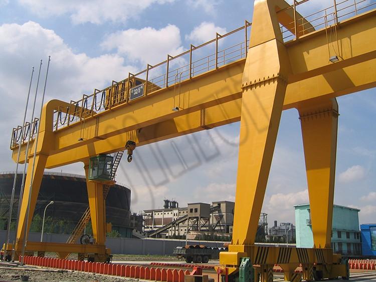 Mobile Industrial Yard 75 ton 100 ton Double Beam Gantry Crane Price