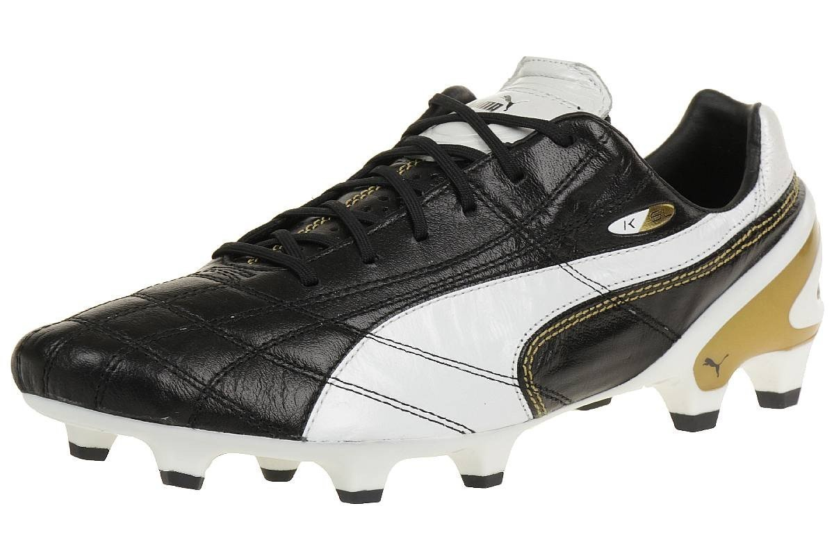 Get Quotations · Puma soccer shoes King SL Classico FG 103329 01 black  Football Men 2f4d4db91