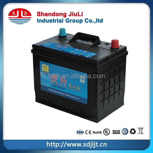 N40 Maintenance Free Car Battery for starting