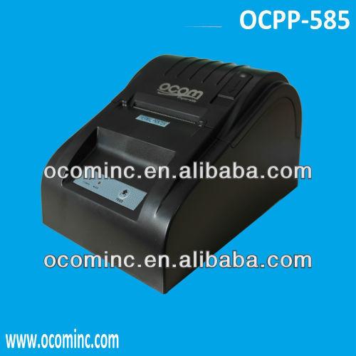Wholesale OCPP-585-U-B USB Black Elegant Design 58mm Mini Printer ...