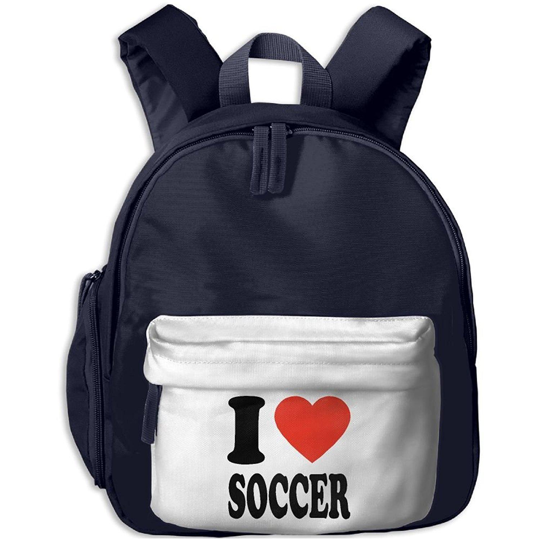 6c1cf42289b0 Get Quotations · Children School Bag I Love Soccer Toddler Backpack School  Bag Best For Toddler