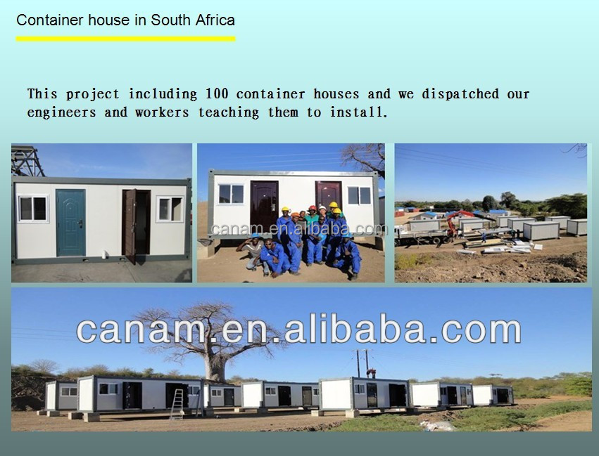 Low-cost prefab container house in europe