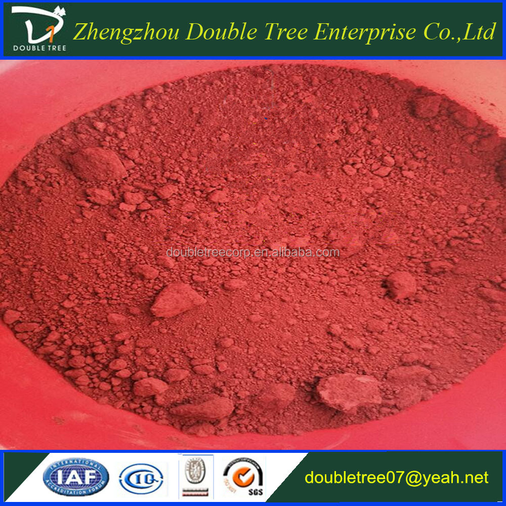 Concrete coloring iron oxide red pigment manufacturer