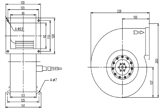 Exhaust Fan With High Rpm Models For Industrial Solar Roof