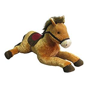 Toys R Us Plush 42 Inch Lying Horse - Brown