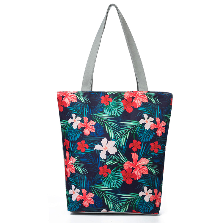 New stylish tote bag canvas handbags for women lady