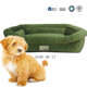 2018 Latest design washable Luxury soft FLANNEL pet bed,dog bed