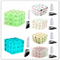 3x3x3 glow in the dark Chinese characteristics Mahjong Magic Cubes Speed Puzzle Smooth Transparent Educational Toys