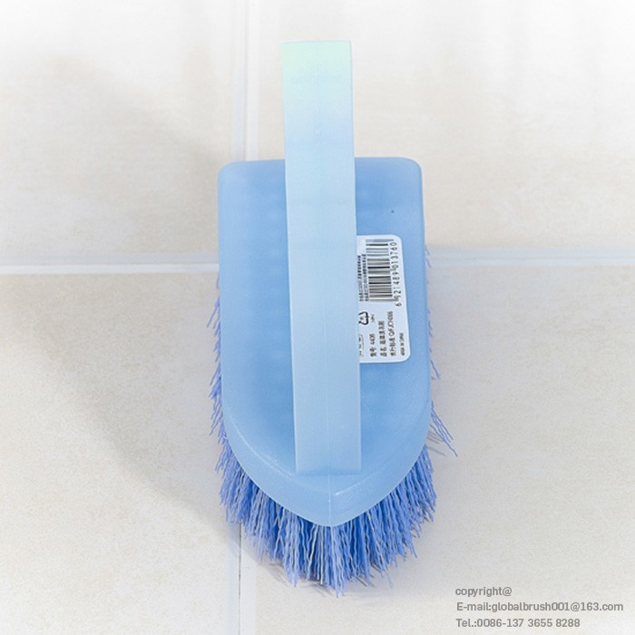 hq8118 heavy duty plastic brush scrub for floor clean disposable cleaning brush