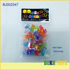 Make diy beads nice large hole acrylic beads clear star shaped beads