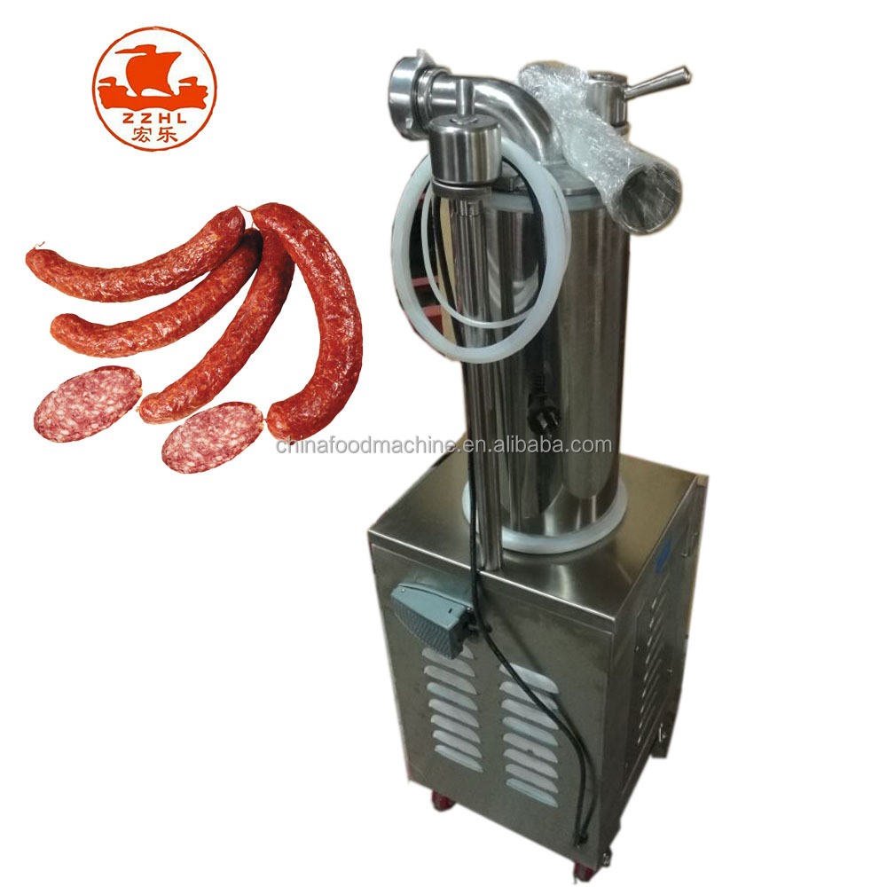 Hydraulic sausage filler/Automatic industrial commercial electric vegetarian chicken sausage stuffer filling making machine