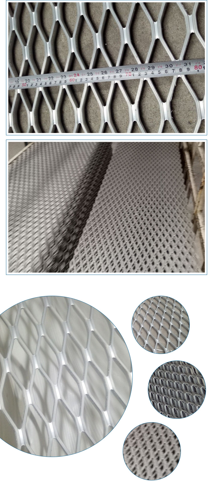 slip resistance 13mm anodized aluminum serrated walkway grating for safety walkway