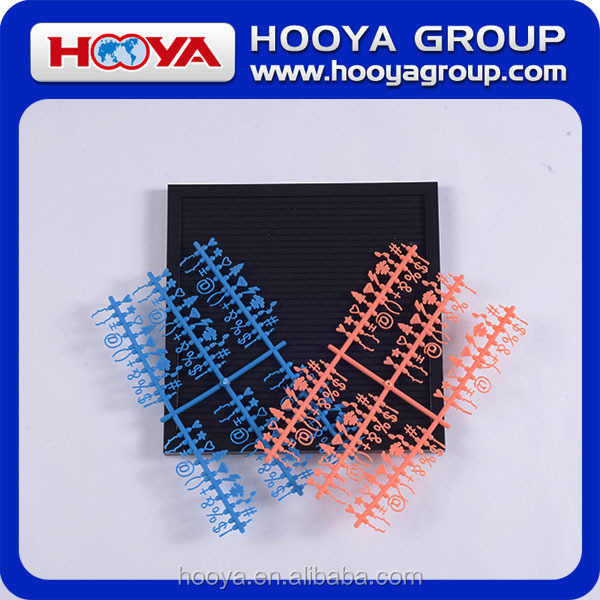 china wholesale plastic letters for felt letter boards