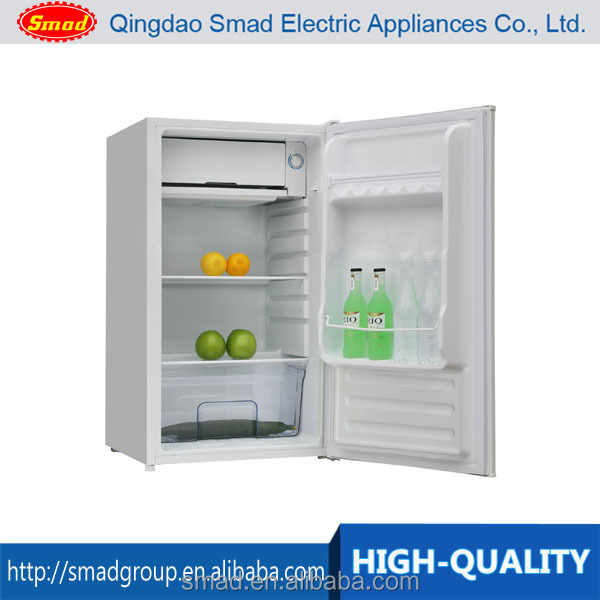 A+ white color home single door refrigerator 90 liter