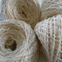 China Online Shopping High Quality Mercerized Soft Milk Raw White Combed Knitting Crochet Cotton Yarn