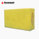 Rock wool filed steel pipe insulation fireproof rock wool board factory fire protection