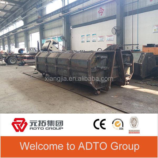 5ft skip container for industrial waste management from china factory ADTO
