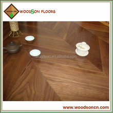 Best Seller American Walnut Engineered Chevron Parquet Flooring