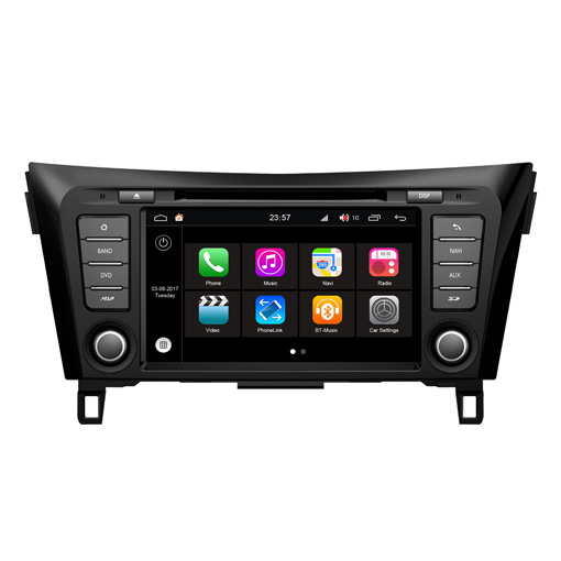 Hifimax Android 7 1 Car Video Dvd Player For Nissan Qashqai 2016  (2012-2015) Multimedia Radio Gps Navigation Mirror Link Wifi 3g - Buy For  Nissan